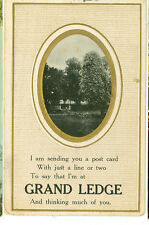 GRAND LEDGE,MICHIGAN-I AM SENDING YOU A POST-PM1910--(MICH-G)