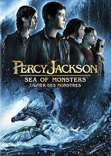 Percy Jackson: Sea of Monsters      (DVD, 2013)  Nathan Fillion  Brand NEW