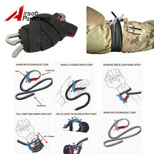 Outdoor Camping Survival EDC Elastic Rope Fast Tourniquet Tactical Gear Tool
