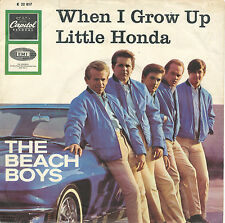 "7"" - The Beach Boys - When I Grow Up / Little Honda - Capitol K 22817 - DE 1964"
