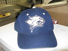 UNIV OF NEW HAMPSHIRE-DK BLUE CAP W/ TEAM LOGO ON FRONT-SIZE 7 LAST ONE