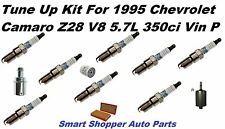 Tune Up Kit for 1995 Chevrolet Camaro Z28 V8 Spark Plug, PCV Valve, Oil Filter
