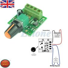Hot! DC 1.8V 3V 5V 6V 12V 2A Low Voltage Motor Speed New Controller PWM 1803B