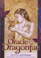 ORACLE OF THE DRAGON FAE Tarot Kit Card Deck Fairy Book Set Selina Fenech