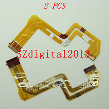 2PCS/ NEW LCD Flex Cable For Sony DCR- SR37E SR47E SR48E SR57E SR67E SR87E