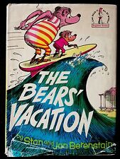 THE BEARS' VACATION ~ Dr Seuss Vintage Hardcover W/ Jacket RARE!