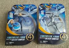 Lot of 2 Fantastic Four: Rise of the Silver Surfer Figures = Invisible Woman MOC
