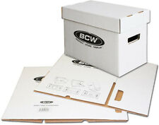 (1) BCW-BX-SHORT Comic Book Cardboard Storage Boxes Cases Holds 150-175 NEW