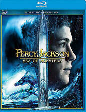 Percy Jackson: Sea of Monsters (Blu-ray Disc, 2016, 3D)