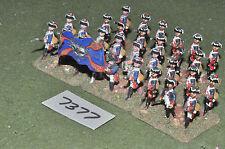 25mm seven years war prussian musketeers 30 figures (7377) painted metal