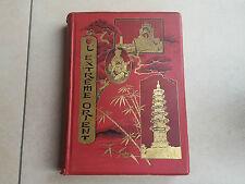 Livre PAUL BONNETAIN / L'EXTREME ORIENT boek book vintage bibliophilie libro