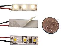5 LED modelo de casa iluminación warmweiss 8-16v ac/dc Klein Hell para h0
