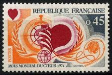 France 1972 SG#1957 World Heart Month MNH #D39981
