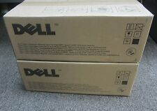 LOT- 2 x New Genuine Sealed DELL 3130CN TONER CARTRIDGE M CT350664 / C CT350663