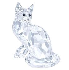 Swarovski Maine Coon Cat, animal Clear Crystal Authentic MIB 5135919
