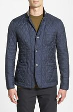 Burberry Brit Howe Men's Blue Quilted Jacket Size Extra Large XL