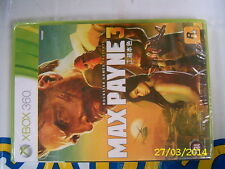 XBOX360 GAME MAX PAYNE 3 (ORIGINAL BRAND NEW)