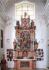 Alte Postkarte - Kloster Holzen - Klosterkirche - Vierzehn-Nothelfer-Altar