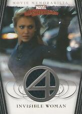 "Marvel Masterpieces 2- FF2 ""Invisible Woman"" Memorabilia Costume Card (Textured)"