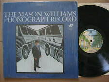 Mason Williams LP 1973 The Phonograph Record EX in shrink Warner Bros. WS 1729
