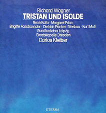 WAGNER Tristan & Isolde Carlos Kleiber SK Dresden 5 LP 1st.Ed. Eterna 827577-81