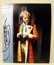 DOCTOR WHO Autograph 8x10 Color Photo-COLIN BAKER 6th Doctor (EBAU-777)