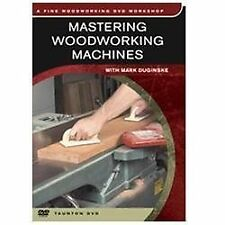 Fine Woodworking DVD Workshop: Mastering Woodworking Machines Mark Duginske NEW