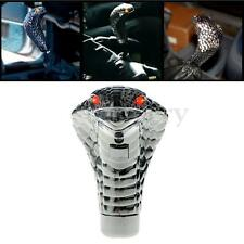 Universal Car Cobra Manual Gear Stick Shift Knob Snake Shifter Lever Red Led Eye