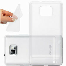 Ultra Thin Soft TPU Gel Clear Crystal Case Cover For Samsung Galaxy S2 SII i9100