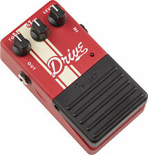 NEW FENDER STEREO DRIVE GUITAR EFECTS PEDAL COMPETITION SERIES