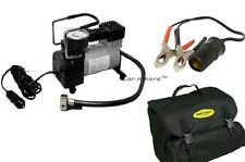 HEAVY DUTY FULL METAL 12V Electric Car Bike Air Compressor Pump Tire Inflator