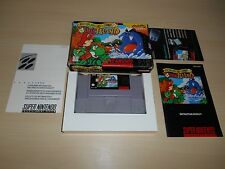Yoshi's Island Complete Super Nintendo Game CIB SNES Super Mario World 2 II