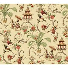 Waverly Wallpaper WA7770 Mandarin Prose Oriental Asian Toile