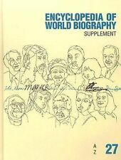 Encyclopedia of World Biography: 2007 Supplement (Encyclopedia of World Biograph