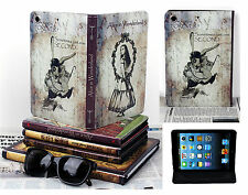 For New iPad Mini 1 2 3 Authentic Retro Vintage Alice In Wonderland Case Cover