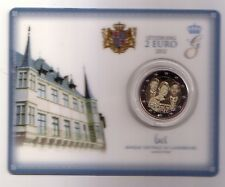 Luxembourg  2 €  2012  coincard Marriage