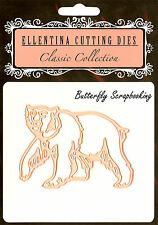 BEAR Zoo Wildlife Craft Cutting Die Ellentina Die DCN110 Tessler Crafts New