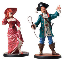 WDCC Disney Pirates of the Caribbean REDHEAD and AUCTIONEER Figurine set NEW MIB