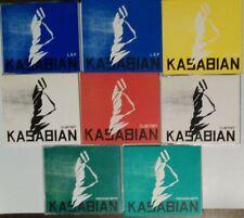 KASABIAN 8 CD LOT OF EARLY CD SINGLES LOOK !!!