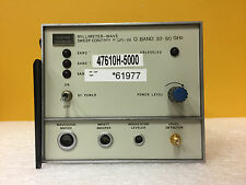 Hughes 47610H-5000, Q Band: 33 to 50 GHz, Band MM-Wave Sweep Control Plug-In