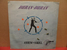 "Duran Duran - A View to a Kill 7"" 45 Single Picture Sleeve SPAR 89061 YUGOSLAVIA"