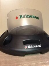 Heineken Beer Pool Float, Cooler, Removable Ice Bucket, Holder, Beach Party