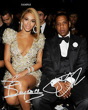 JAY-Z BEYONCE REPRINT AUTOGRAPHED PHOTO PICTURE SIGNED 8X10 CHRISTMAS GIFT