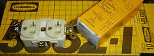 HBL5362I Hubbell Straight Blade Duplex Receptacle 2pole 3 wire 20A 125V Lot 10@