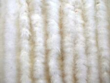 10 MARABOU FEATHER BOAS 2 Yards 15 Grams: WHITE ONLY (Halloween/Costume/Bridal)
