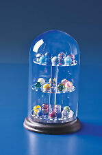 1 of Our Best Glass Domes Display Case Modern Vintage Hand Machine Made Marbles