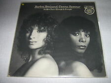 "DONNA SUMMER BARBRA STREISAND MAXI VINYL 12"" HOLLANDE"