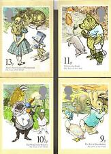 GB YEAR OF THE CHILD 4 POST CARDS PETER RABBIT WINNIE THE POOH ETC 4 1979