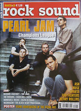 ROCK SOUND 55 2002 Pearl Jam Foo Fighters Ash Muse Henry Rollins Liars Datsuns