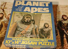PLANET OF THE APES JIGSAW PUZZLE IN A BOX TOY ON PATROL 1967 COMPLETE PIECES